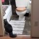 Тот редкий случай, когда кошка обожает принимать ванну!