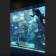 Он мыл аквариум, но тут появилась леопардовая акула …