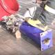 Чудесное спасение котенка застрявшего в трубе!