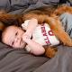 Смешные собаки защищают младенцев