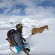 Операция по спасению лошади, которая застряла в горах