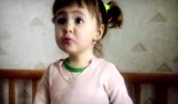 Как папу зовут? — Батя! Милая малышка собрала 4,5 миллиона просмотров