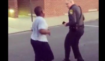 Танцевальный баттл между полицейским и подростком стал хитом интернета