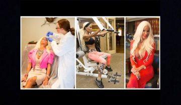 Посмотрите, во что превратилась женщина, мечтая стать живой Барби!