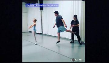 Эти папы могут все, что угодно! И даже танцевать балет вместе с дочками!