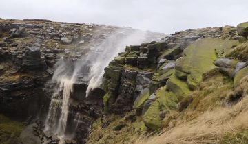 Этот водопад нарушает все законы физики!