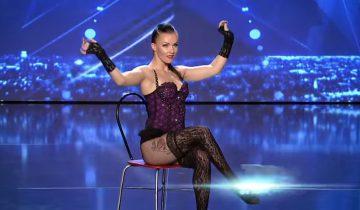 Участница Got Talent 2017 в Румынии сразила жюри акробатическими трюками