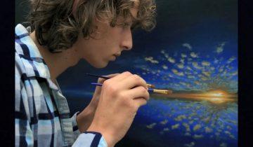 Талантливый художник поделился с публикой самым сокровенным…