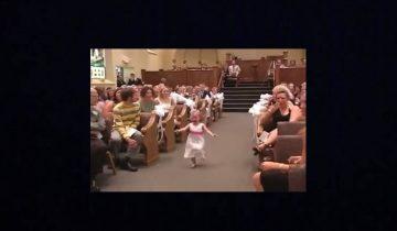 Свадебный переполох: малышка развеселила всех гостей