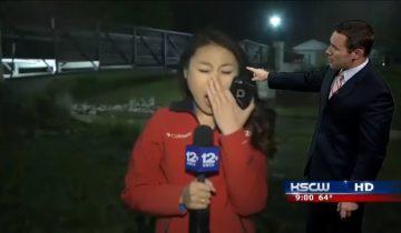 Казус на американском ТВ: вместо прогноза погоды — зевающая ведущая