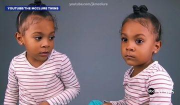 Малышка расстроилась, когда узнала, что родилась на минуту позже сестрички