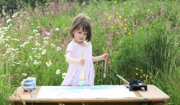 7-летнюю британку с аутизмом называют новым Моне