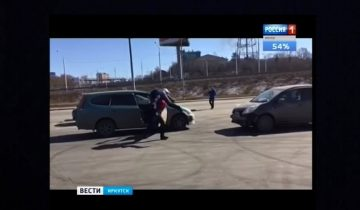 Парень подрезал машину с женщиной за рулем и очутился в багажнике
