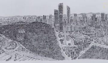 Потрясающе! Парень воссоздал панораму Мехико до мельчайших деталей