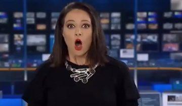 Австралийская телеведущая стала звездой интернета из-за курьеза в прямом эфире