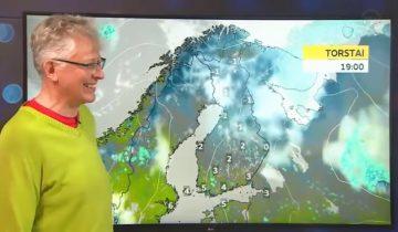 Веселый финский метеоролог стал героем интернета