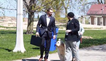 Мужчина предлагает владельцам собак 100 тысяч долларов за их питомцев