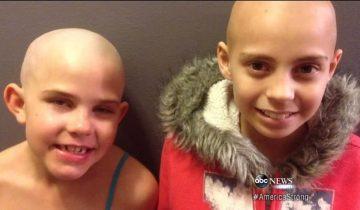 Чтобы поддержать больную подругу, 9-летняя девочка пошла против системы