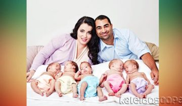 Австралийка родила пятерню: детки были зачаты естественным образом