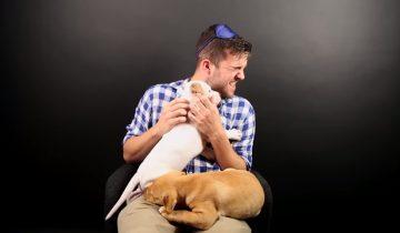 Людям, которые боятся собак, вручили щенков питбуля: 8,4 млн просмотров