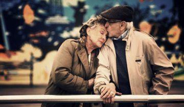 12 фотографий счастливых пожилых пар