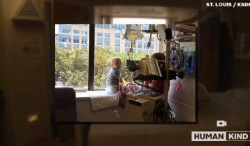 Строители оставили невероятное послание девочке, больной лейкемией