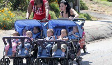 В 2009 году эта женщина родила восьмерых детей (7 фото)
