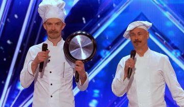 Парни со сковородками шокировали жюри (3,6 млн просмотров)