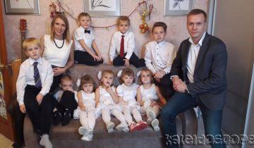 Отец-одиночка воспитывал 6-х детей, а теперь ожидает рождения 10-го ребенка
