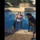 Крошка-йорк так хотел поплавать, но так боялся воды…