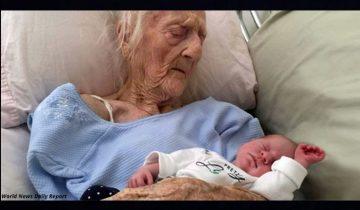 Знакомьтесь — это самая старая мама в мире, которая родила в 101 год