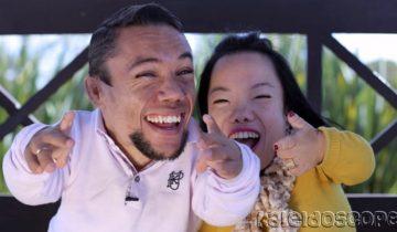Счастливы вместе и попали в Книгу рекордов Гиннесса: самая низкорослая пара