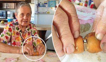 13 лет она не могла найти свое потерявшееся обручальное кольцо