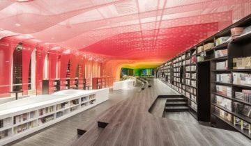 В Китае открыли книжный магазин будущего (11 фото)
