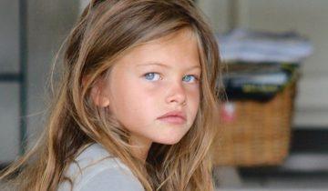 Юная модель «самая красивая девочка на земле» повзрослела и выросла