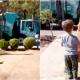 Мальчик с аутизмом каждую неделю встречал мусорную машину