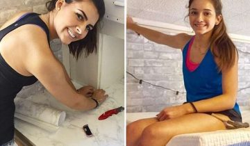 За 10 часов девушки превратили комнату общежития в конфетку