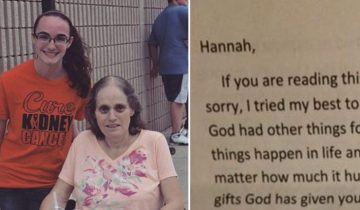 Девушка нашла последнее письмо от мамы спустя несколько часов