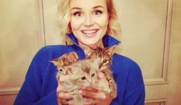 Полина Гагарина нашла замерзших котят и не смогла пройти мимо
