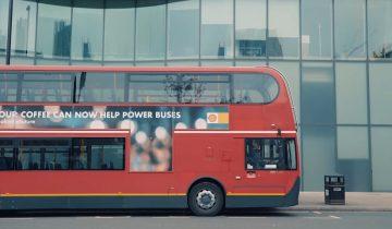 Автобусы в Лондоне будут ездить на топливе из кофейной гущи