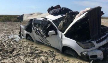 Пять дней на крыше авто в окружении крокодилов