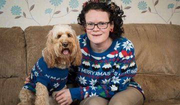Женщина приготовила для любимой собаки 68 подарков