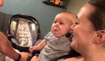 Мама с папой довели малышку до слез (4,3 млн. просмотров)