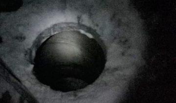 Жительница Татарстана провалилась в люк и обнаружила там пропажу