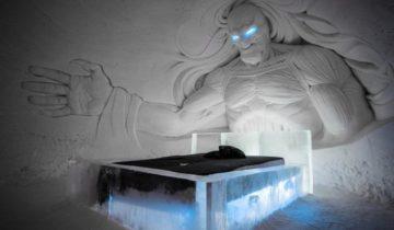 В Лапландии построили ледяной отель по мотивам «Игры престолов»
