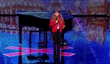 8-летняя француженка заворожила своим выступлением зал