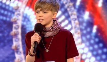 12-летний паренек так переживал перед выступлением