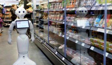 Из шотландского супермаркета уволили робота