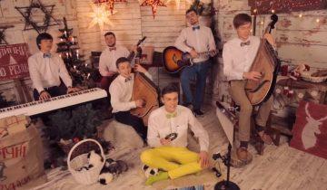 Jingle Bells в исполнении «Шпилястих кобзарів»: потрясающе красиво