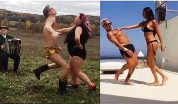 Пермские артисты спародировали «танцующего миллионера»
